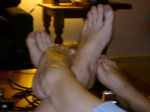 tired feet...